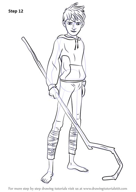 learn   draw jack frost  rise   guardians
