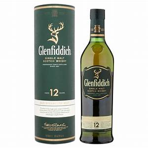 Glenfiddich 12 Year Whisky 70cl - DrinkSupermarket