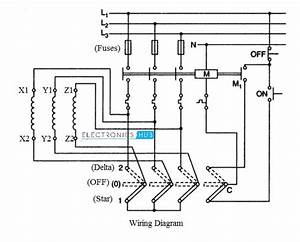 Manual Starter Wiring Diagram