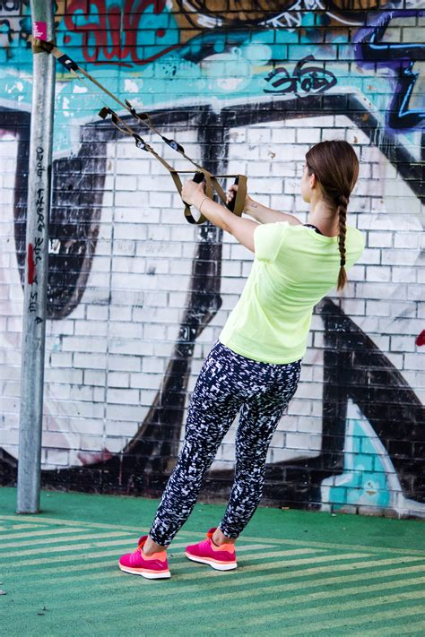 TRX Upper Body Exercises for slim, defined arms and a strong back