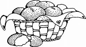 Free bread baskets coloring pages