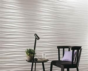 Panneau Bois Decoratif Interieur : panneau mural d coratif en 3d mettez en valeur vos murs ~ Melissatoandfro.com Idées de Décoration