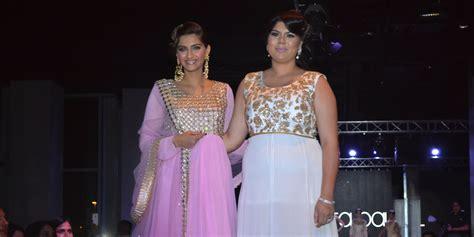 sonam kapoor walks  amita bal  south asian fashion