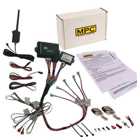 Remote Start Keyless Entry Fits Select Chevy Gmc