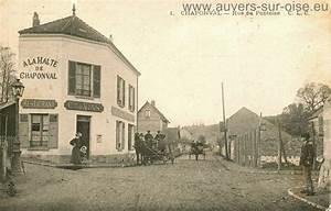 Plombier Auvers Sur Oise : la halte de chaponval cartes postales anciennes restaurant ~ Premium-room.com Idées de Décoration