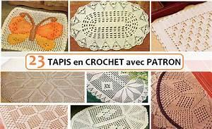 Tapis En Crochet : 23 tapis en crochet avec patron crochet et plus crochet et plus ~ Teatrodelosmanantiales.com Idées de Décoration