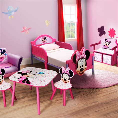 chambre minnie bebe decoration chambre fille minnie raliss com