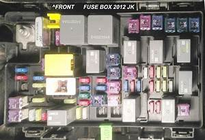 2007 Jeep Wrangler Fuse Box Location