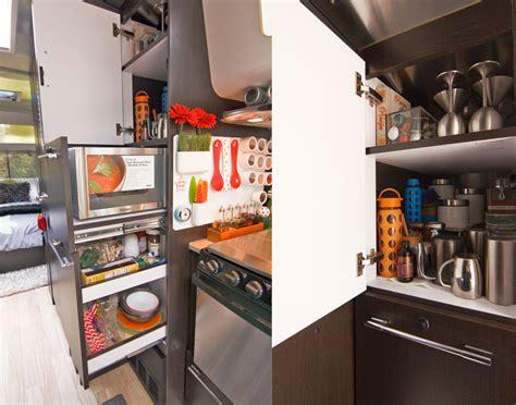 cer trailer kitchen ideas airstream kitchen organization awesomeness trailer