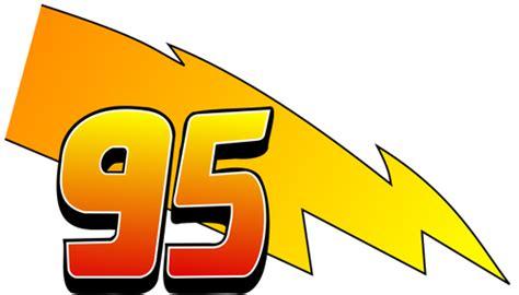 Lightning Mcqueen 95 Logo
