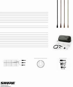 Shure Microphone Wcb6 Users Manual Countryman Wce6  Wce6i
