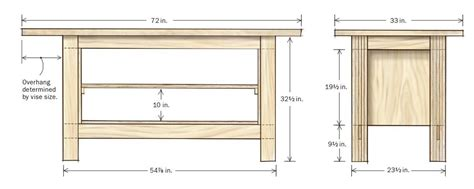 ideal woodworking workbench height newest wood plans