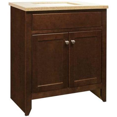 Glacier Bay Bathroom Cabinets Java by Glacier Bay Modular 30 1 2 In W X 18 3 4 In Vanity