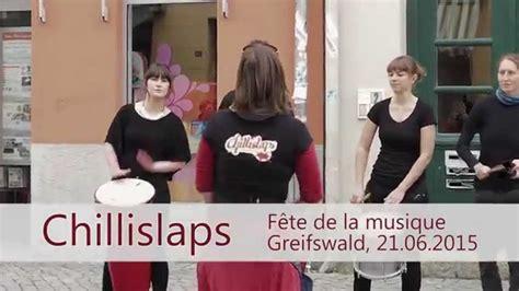 fete de la musique chelles chillislaps sambatrommeln f 234 te de la musique greifswald 21 06 2015