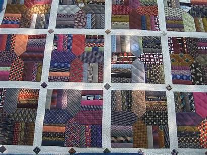 Quilt Necktie Ties Quilts Tie Memory Quilting