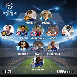Champions League coaches when they were players - UEFA ...