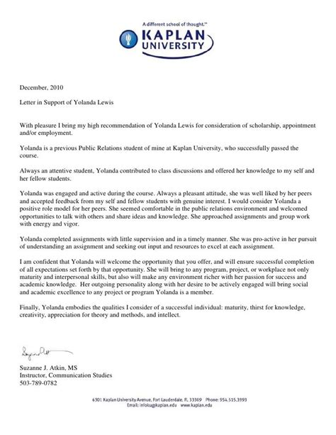 solutions  professor reference letter