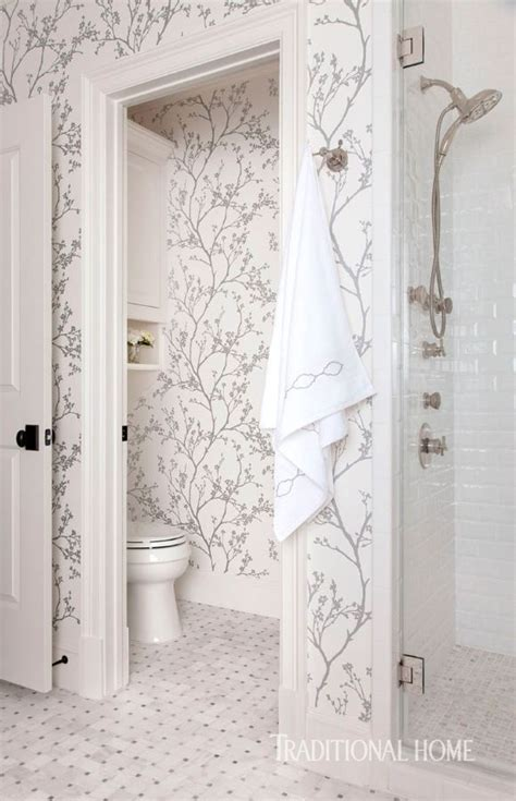 Serene Bathroom Dressed Silver by Serene Bathroom Dressed In Silver In 2019 Fashion