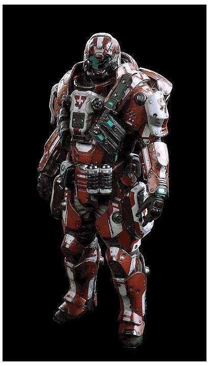 Armor Sci Fi Futuristic Concept Armour Combat