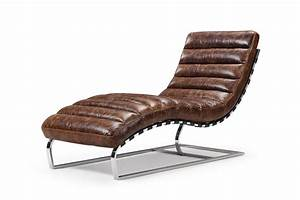 the leather chaise lounge rose and moore With canapé chaise longue cuir