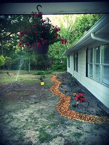 Front, Garden, Remodel, Added, A, Flower, Bed, And, A, Dry, Creek, Bed, Love, It, Still, More, Work, To, Go
