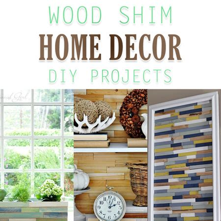 wood shim home decor diy projects  cottage market