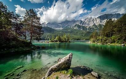 Nature Landscape Germany Mountain Water Lake Forest