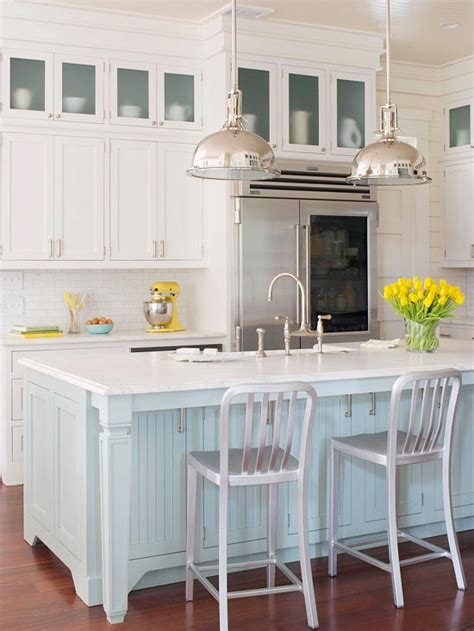 beach house kitchen cabinets coastal style beach house kitchen