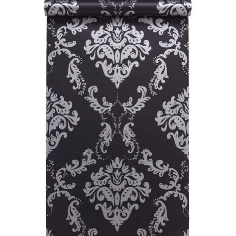 Tapisserie Noir Et Argent les 17 meilleures images concernant papier peint wc sur