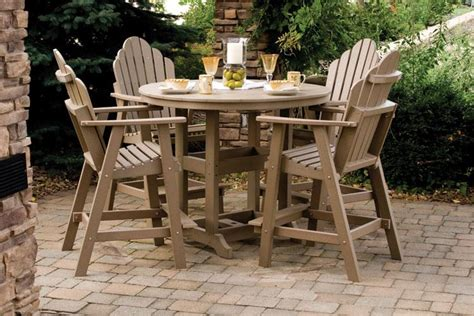 poly outdoor furniture patio set