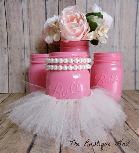inspiration   tutu cute ballerina baby shower corner