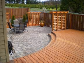 triyae backyard deck privacy ideas various design