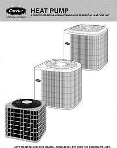 Carrier 38byc030 Series310 User Manual Heat Pump Manuals