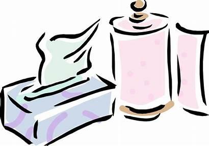Clipart Household Clip Goods Paper Kleenex Transparent