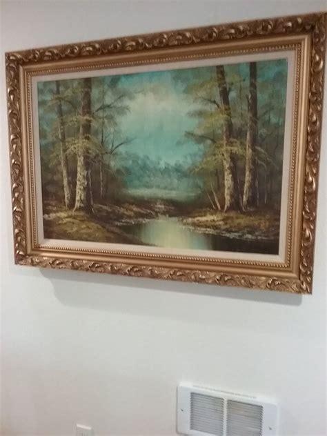 landscape artist  signs   miller  bought   artifact collectors
