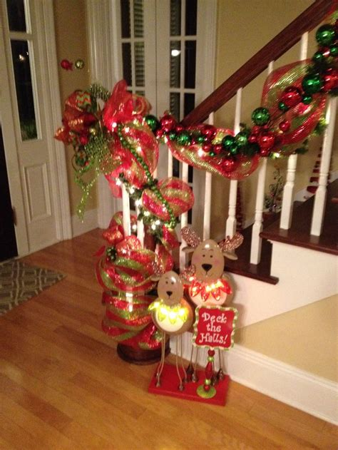 images  staircase decorations  pinterest