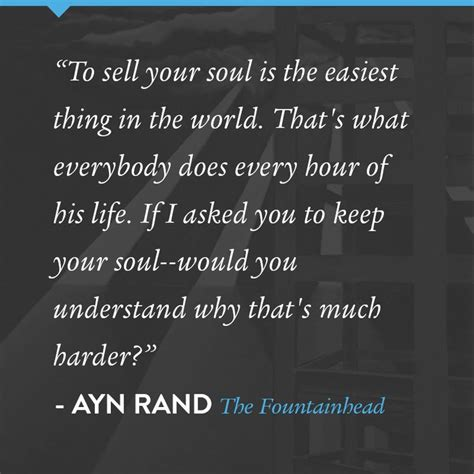 fountainhead ayn rand quotes quotesgram