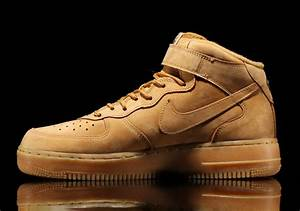 Nike Air Force 1 Mid 'Flax' - New Images & Release Details