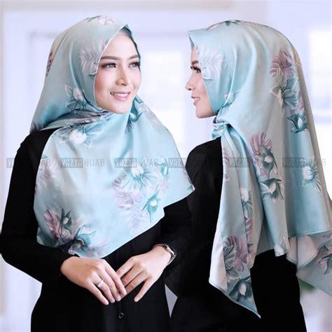 hijab segitiga instan livy pastel terbaru modis trend