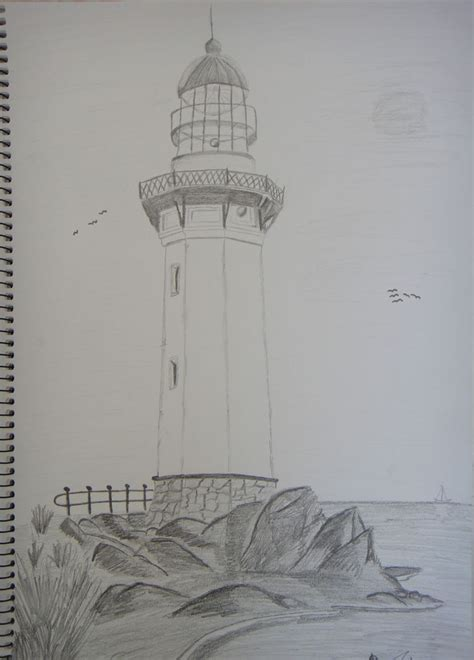 lighthouse lighthouse drawing lighthouse sketch