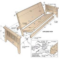 Simple Arts And Crafts Bed Plans Placement by Futon Sofa Sleeper Build Virtualight