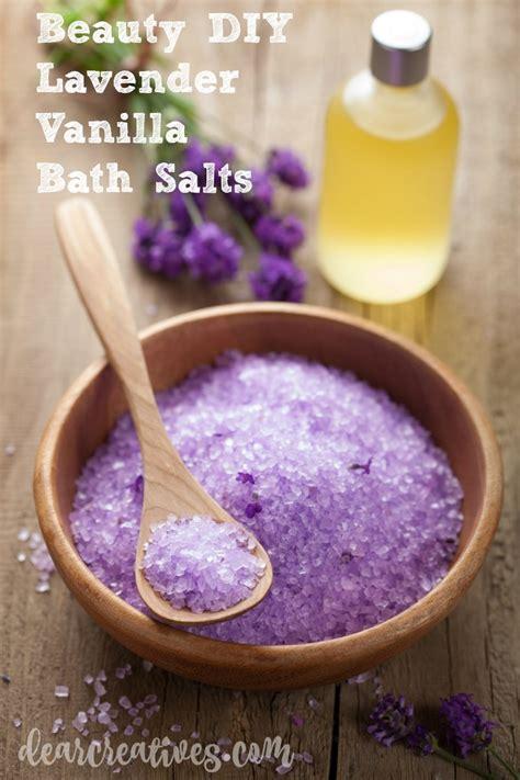 beauty diy lavender vanilla bath soak recipe
