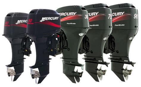 Mercury Outboard Motor Lineup by Outboard