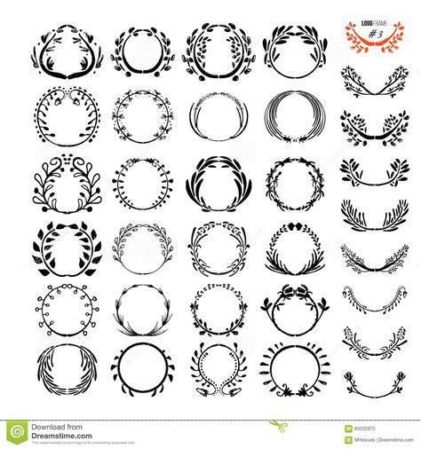a set of unique logo design vector illustration cartoondealer com 13172016