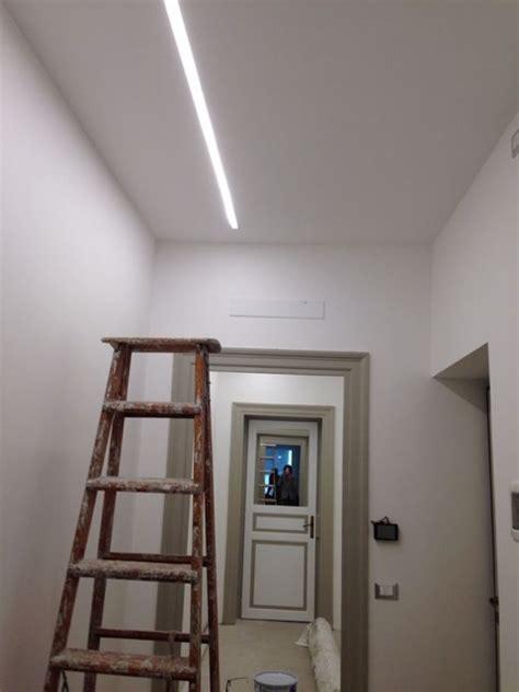 Illuminazione A Soffitto A Led Illuminazione Led Soffitto Cartongesso Mazzola Luce E