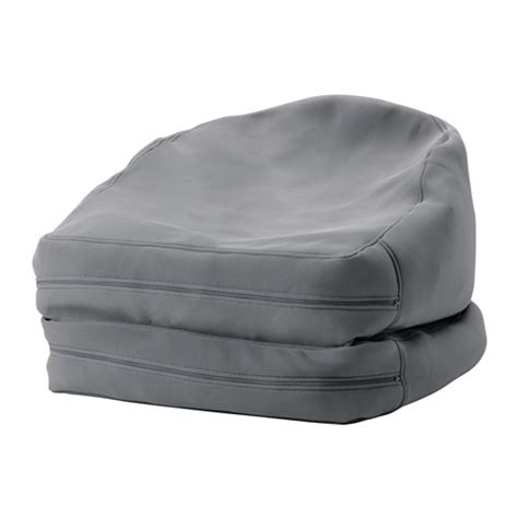chaise exterieur ikea bussan beanbag in outdoor gray ikea