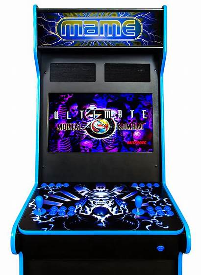 Arcade Cabinet Player Mame Console Custom Graphics