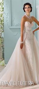 bridal trends wedding dresses with detachable skirts With detachable wedding dress davids bridal