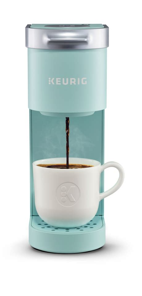 A small keurig coffee maker is the only option. Keurig (K-Mini) Single Serve K-Cup Pod Coffee Maker Reviews, Problems & Guides