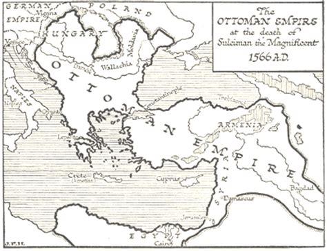 Ottoman Empire Map 1566 by Ottoman Empire 1566
